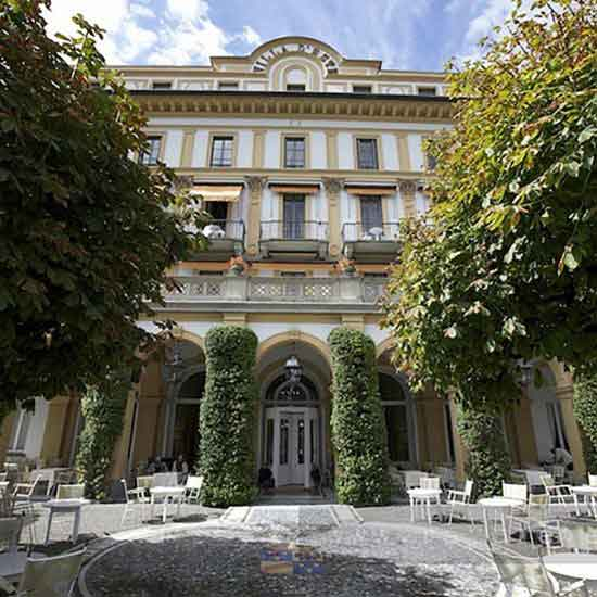 Villa D'Este location for luxury wedding