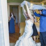 Bride gets ready in Grand Hotel Tremezzo