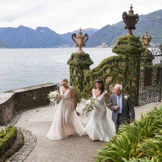 civiil wedding in villa balbianello