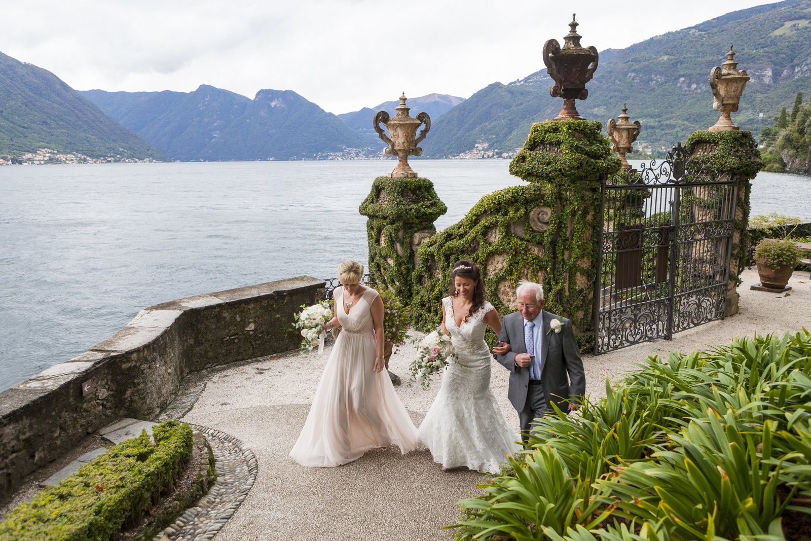 civiil wedding in villa balbianello