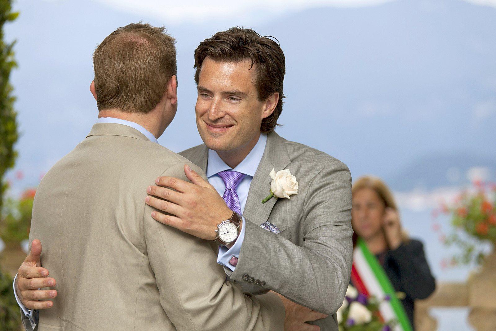 american civil wedding in villa balbianello