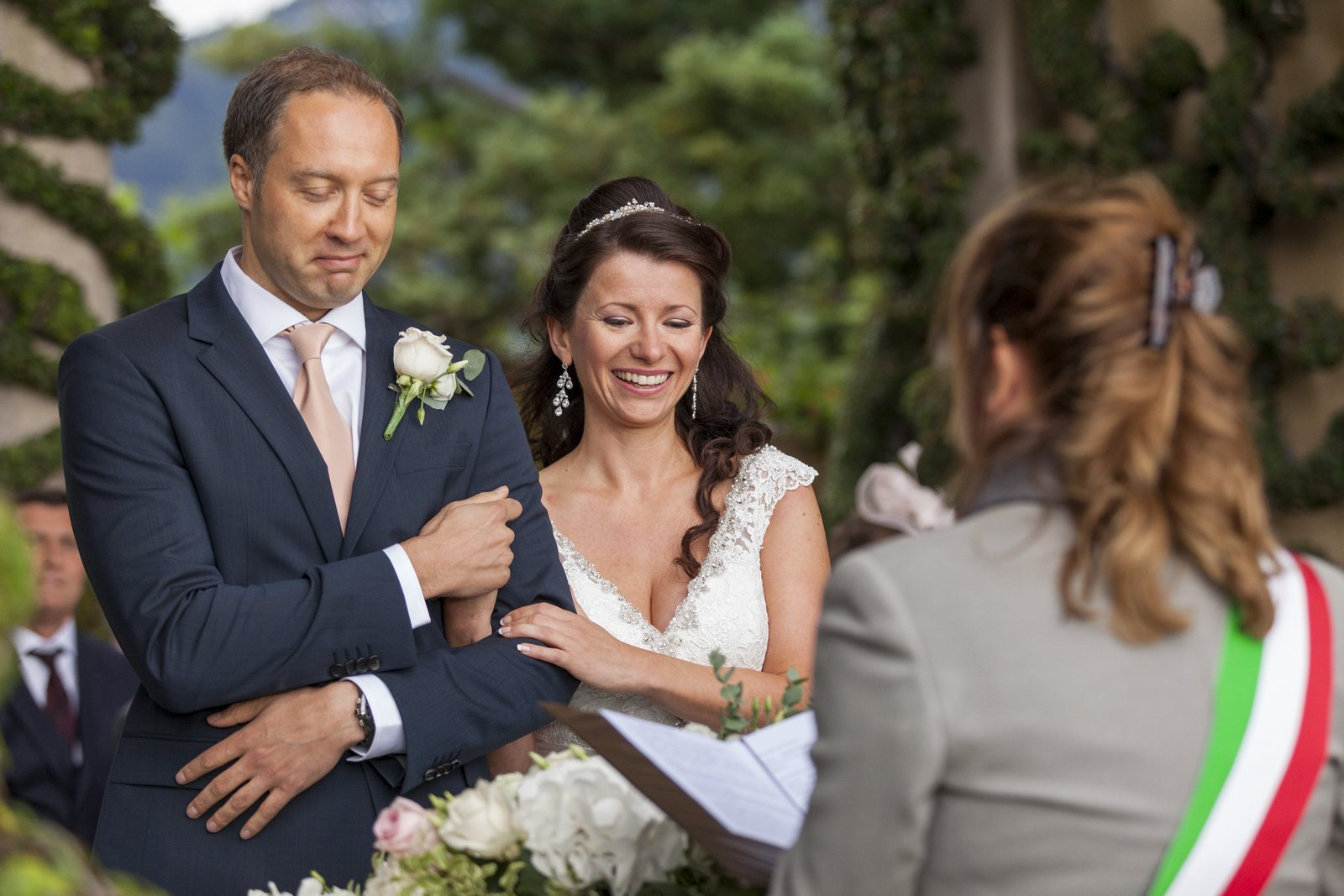wedding civil celebration villa balbianello