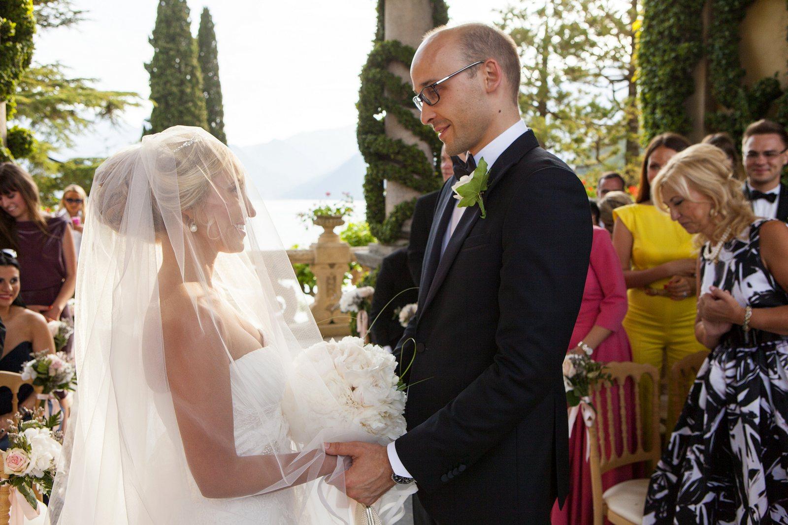 Religious ceremony Villa Balbianello
