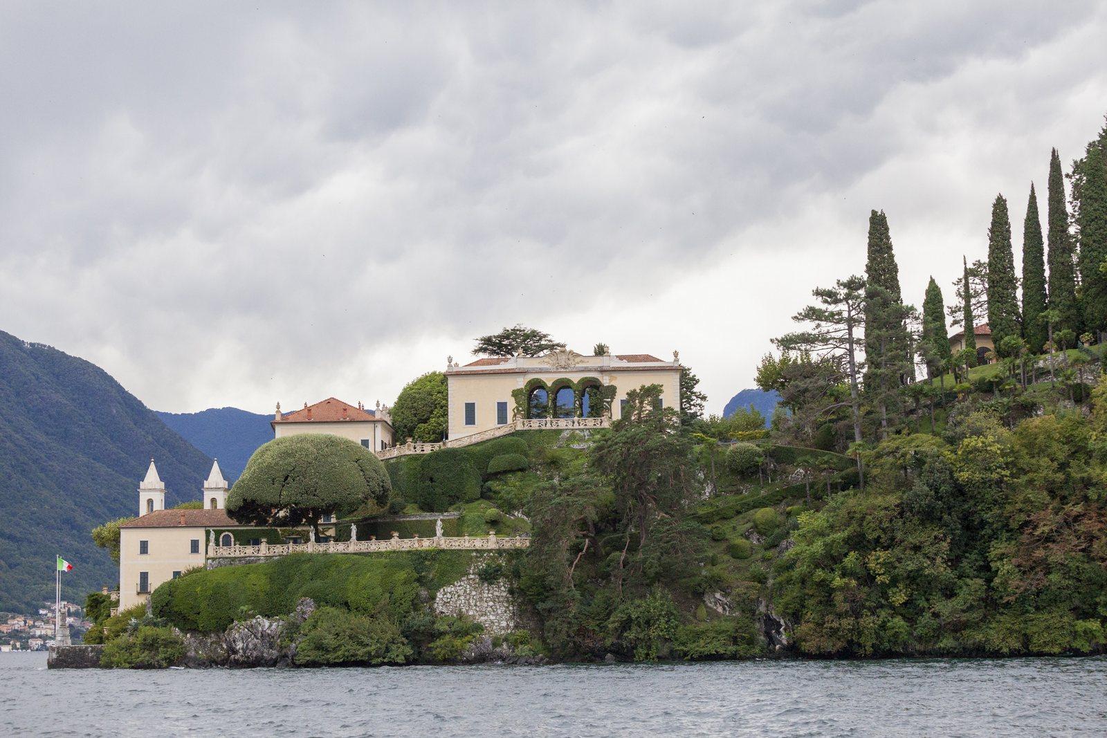 Wedding villa balbianello autumn