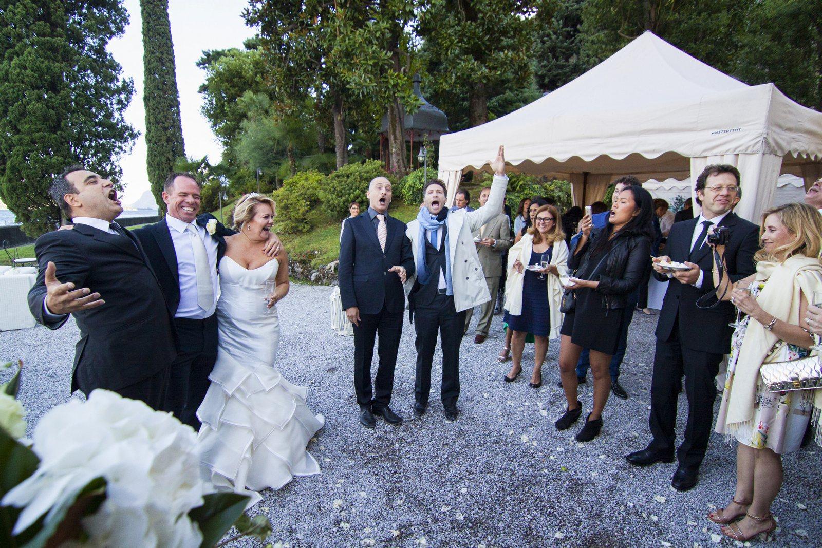 wedding flash mob villa corte del lago