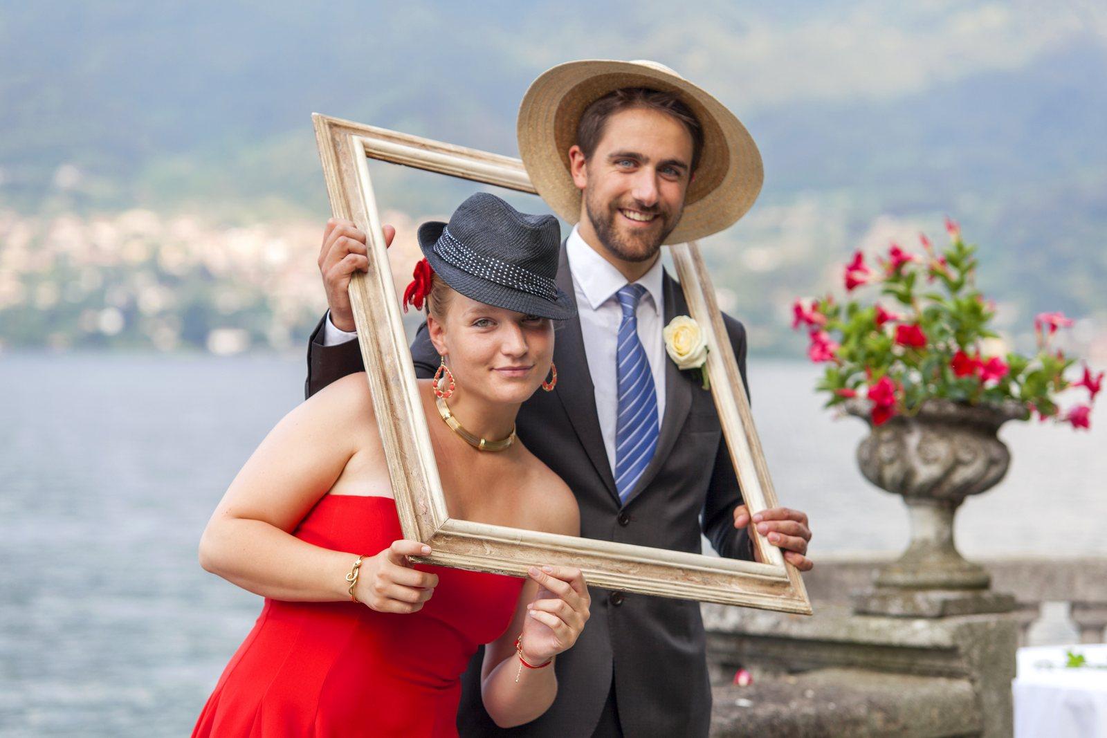 wedding photobooth in villa corte del lago
