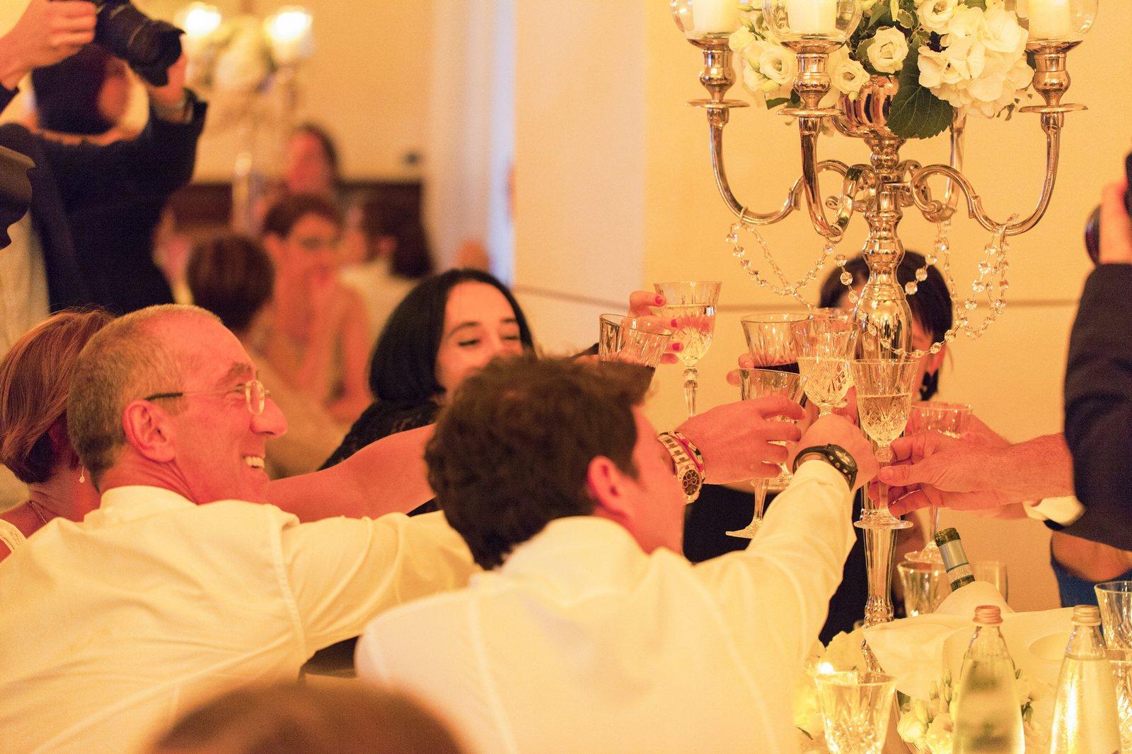 dinner reception villa corte del lago