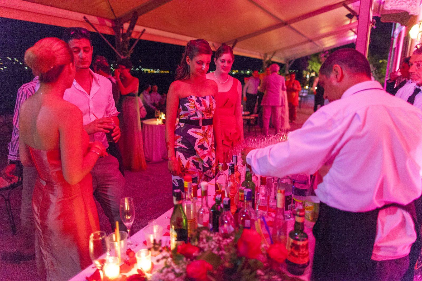 wedding lights in villa corte del lago