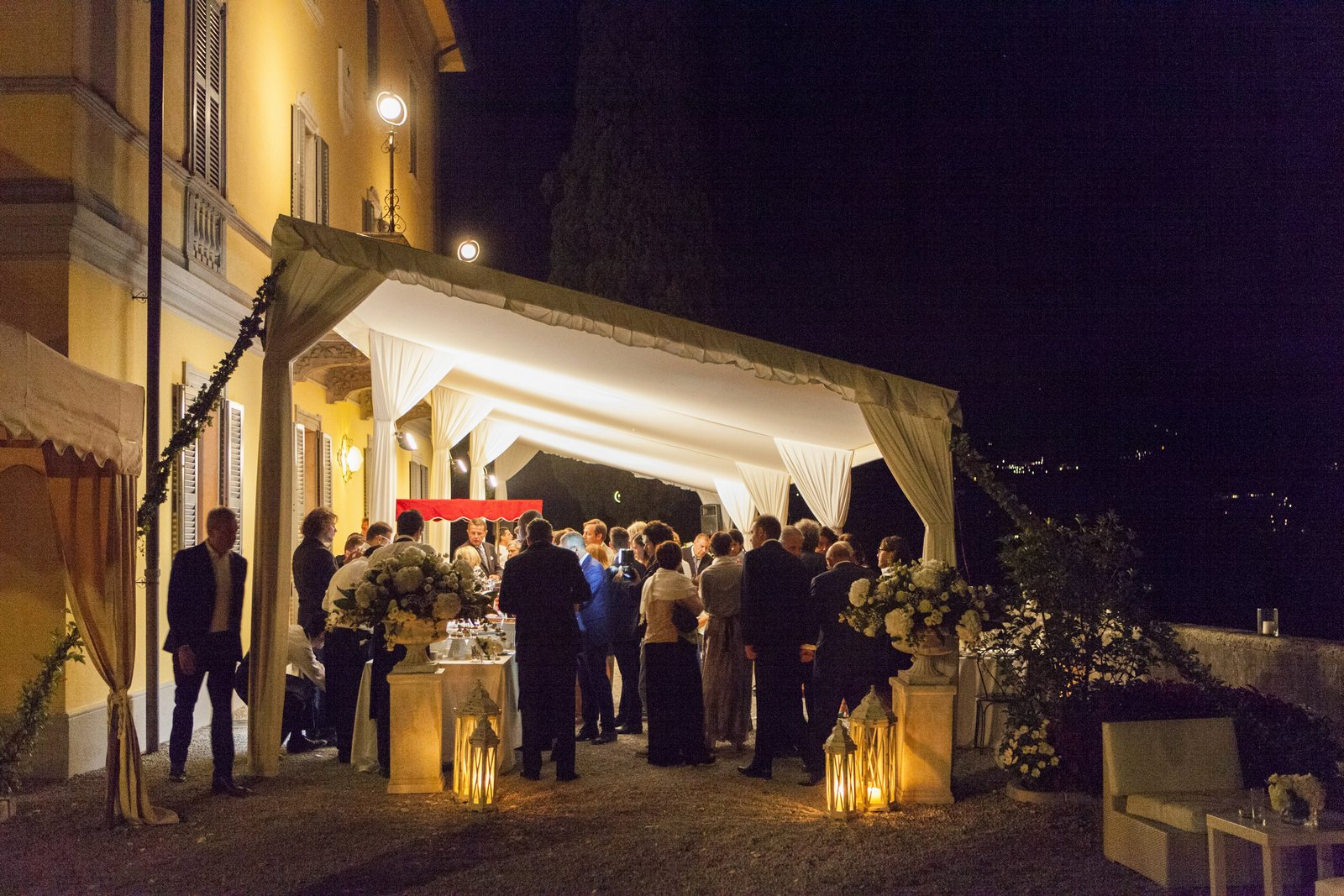 wedding night villa corte del lago lake como