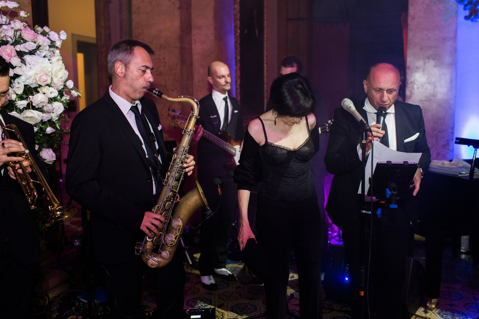 wedding music villa erba