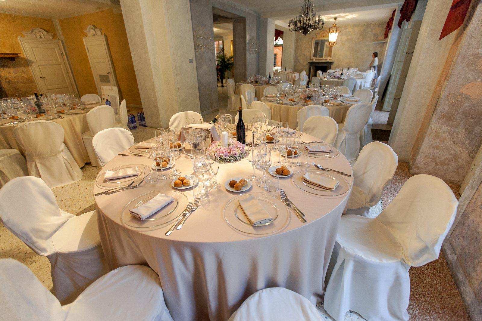 wedding reception dinner villa regina teodolinda