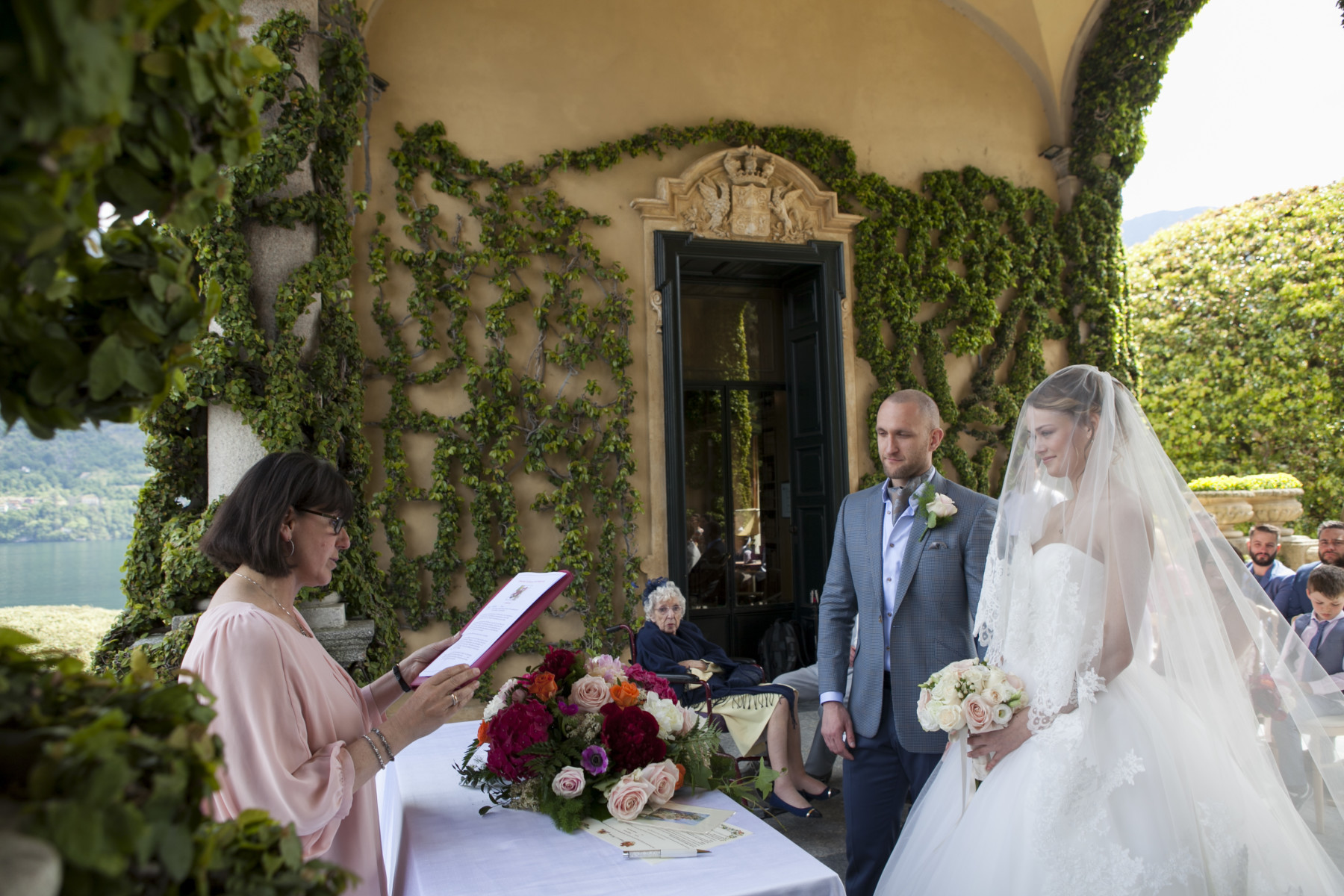 Wedding Ceremony - Villa Balbianello - Lake Como - Italy -