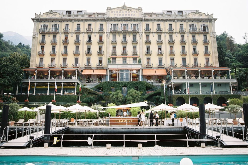 Grand Hotel Tremezzo lake Como wedding venue