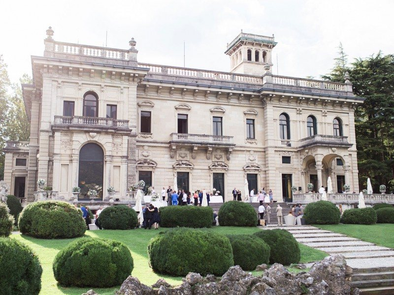 Villa Erba venues wedding lake Como