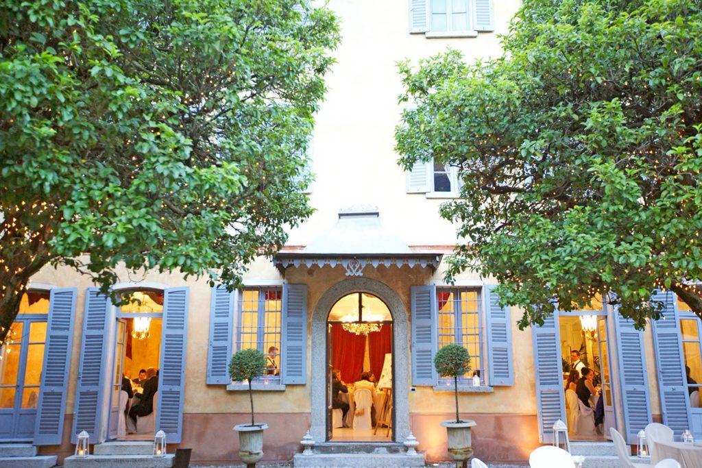 Villa Regina Teodolinda location wedding lake Como