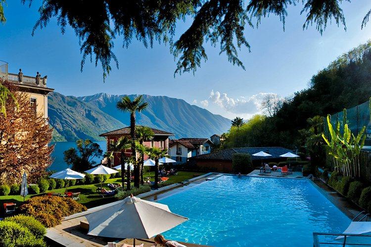 Flowers Gran Hotel Tremezzo lake Como