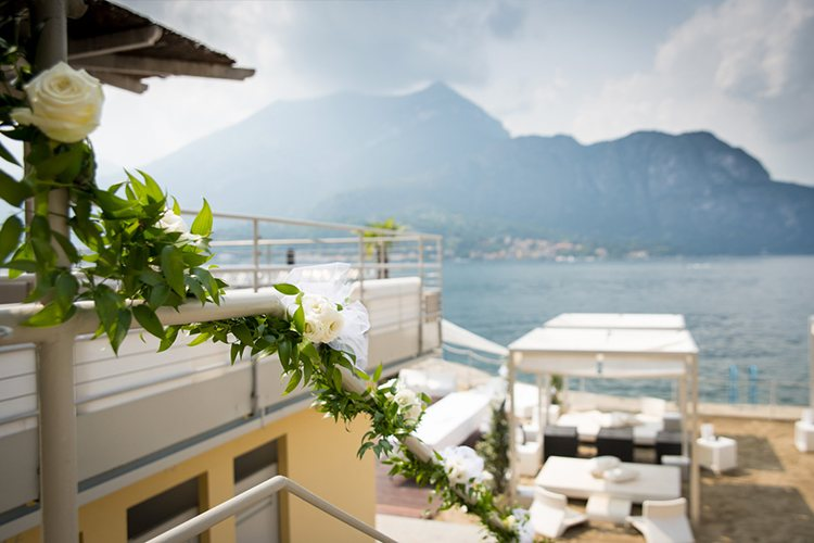Lido di Bellagio lake Como marry