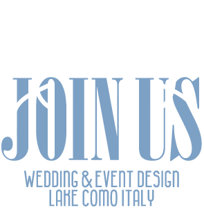 Join Us - Wedding Planner on Lake Como
