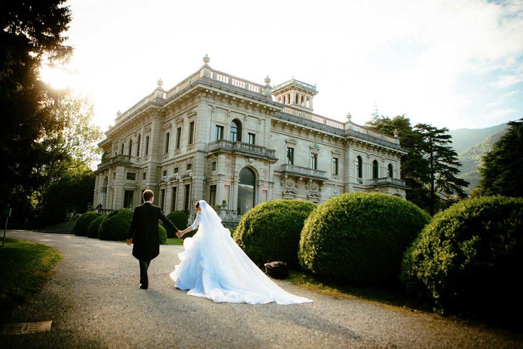 Alexandra and Inigo's wedding in Villa Erba