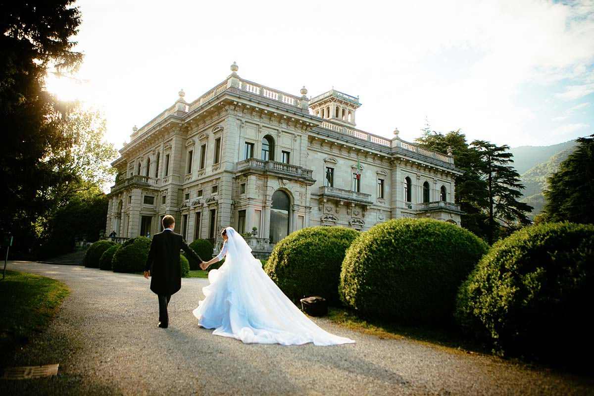 Alexandra and Inigo's wedding in Villa Erba