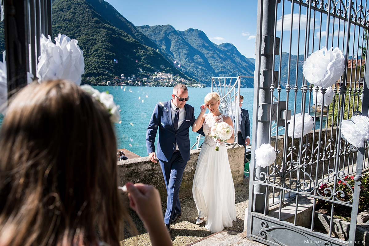 Anya and Tim's Wedding in Villa Lario
