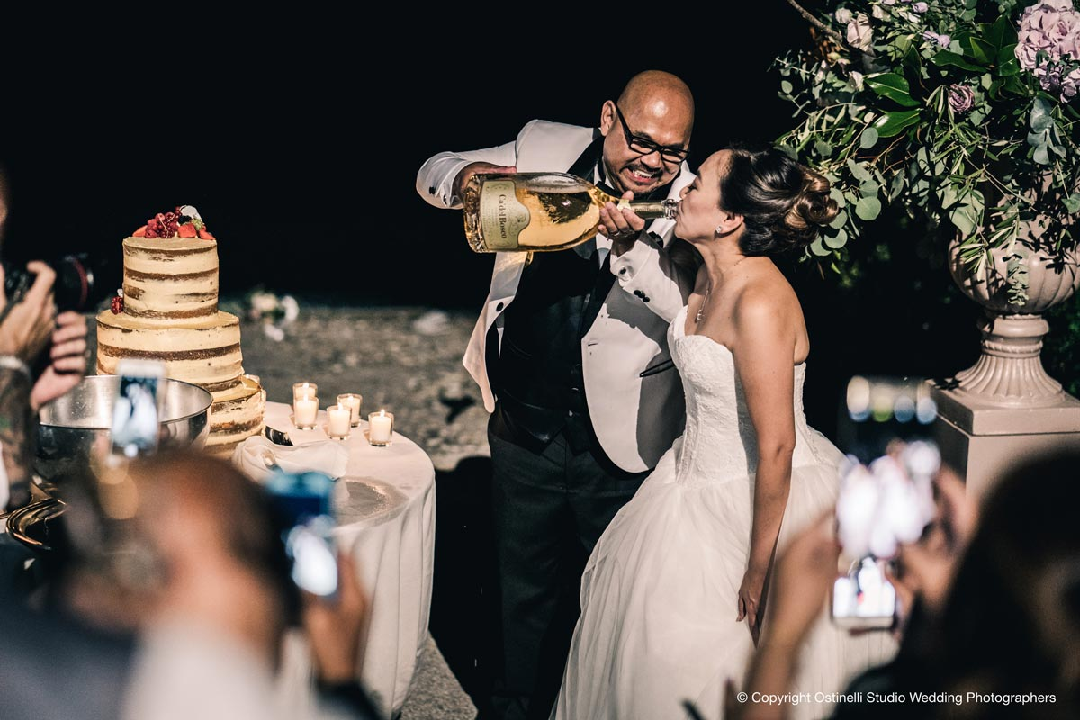 Villa Erba wedding couple from Philippines