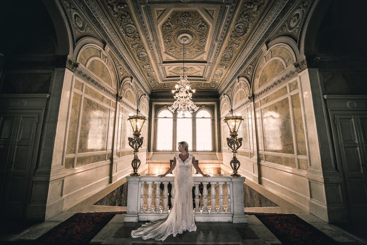 Villa Balbianello bride Lake Como by Join Us