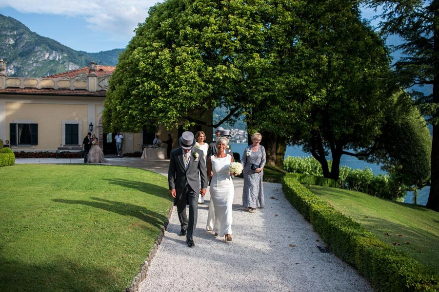 English wedding in Villa Balbianello Lake Como