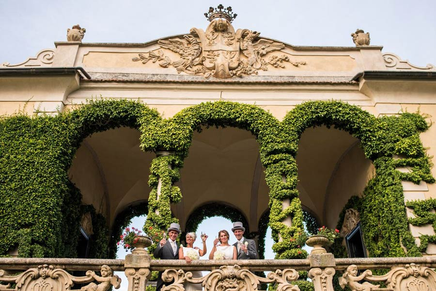 Special wedding in Villa Balbianello Lake Como