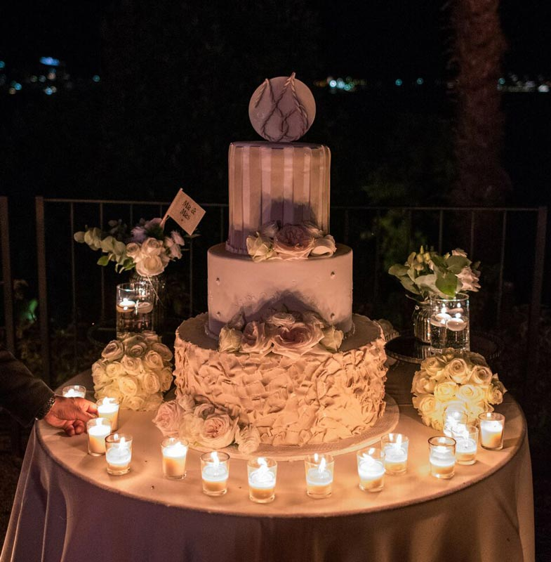 Cake wedding in Villa Balbianello Lake Como