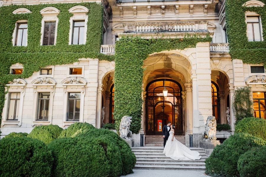 Party wedding in Villa Erba Lake Como