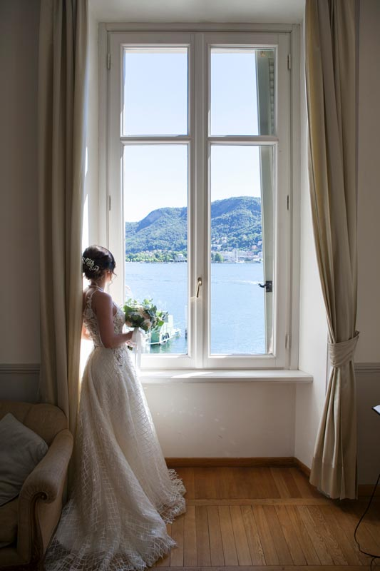 Bride in Villa Geno Natasha Lake Como