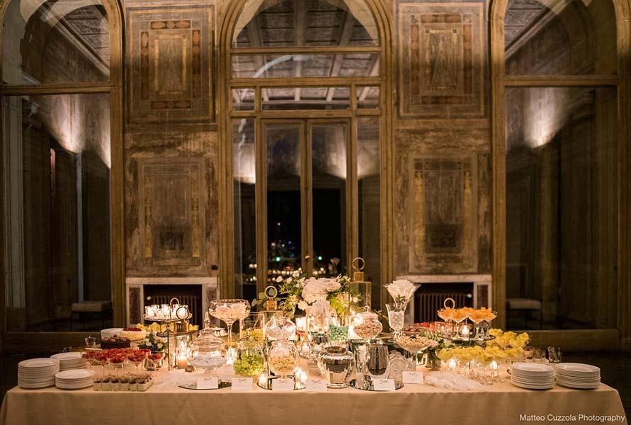 Wedding Martina and Andrea catering Villa Erba