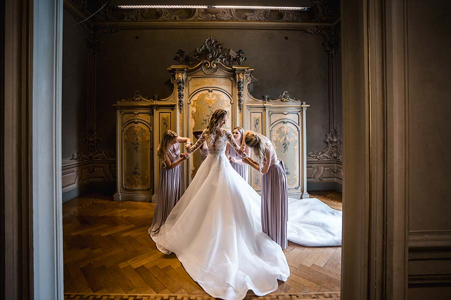 Shoaib and Hannah Wedding in Villa Erba Lake Como