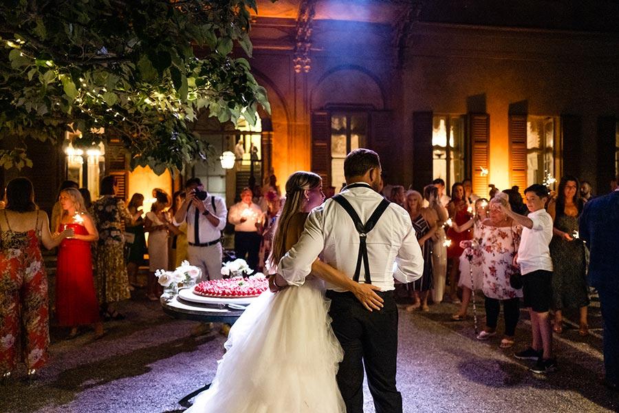 Jodie and Matthew's wedding in Villa Pizzo