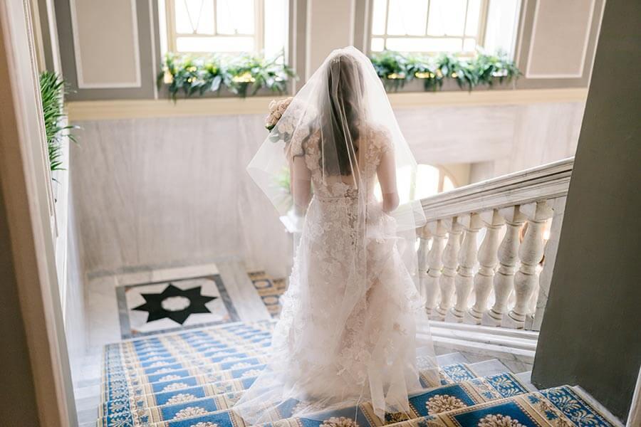 Bride dress Wedding Villa D'Este