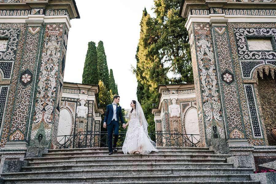 Alberto and Chiara's Wedding Villa D'Este