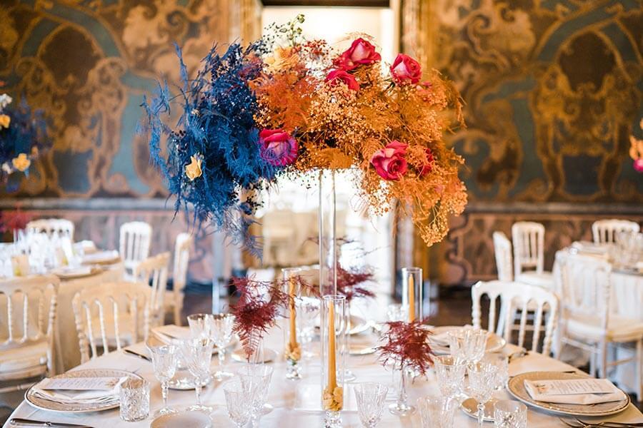 Flowers Andreea and Andrei's wedding Lake Como